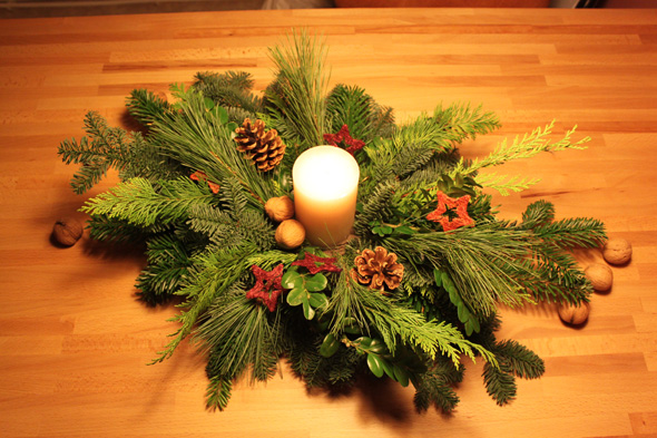 Diy Adventsgesteck Elbmadame
