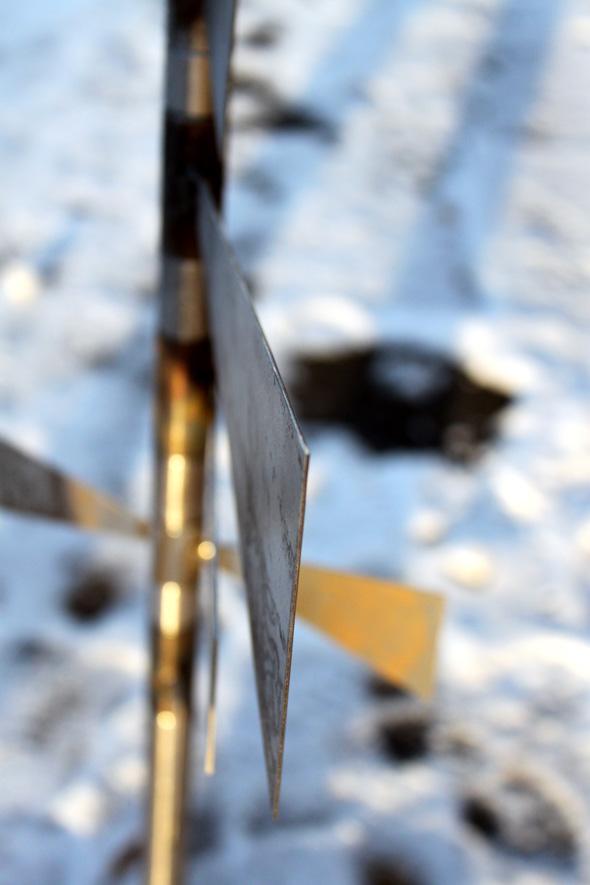 Windspiel Metall
