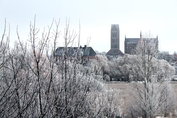 Wismar Winter Altstadt
