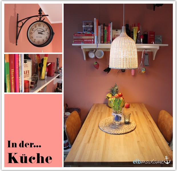 Küche Uhr Tisch