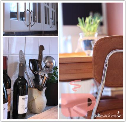 Küche Stuhl Schrank Wein Geräte