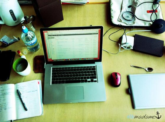 Schreibtisch Atelier Wismar Master Thesis