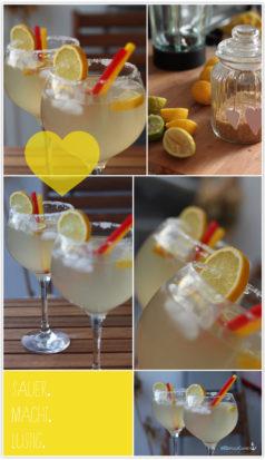 Limo Zitronen Sommer