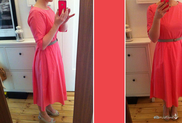 FFF Farbe Kleid