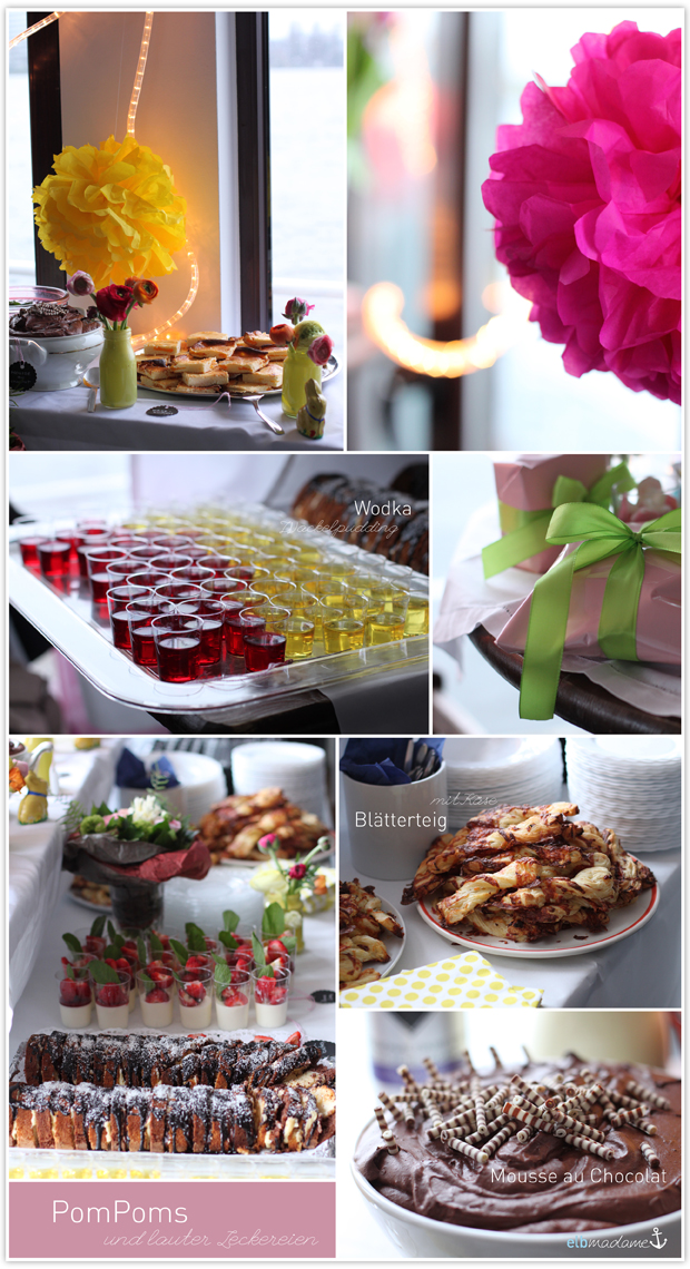geburtstag buffet alster party