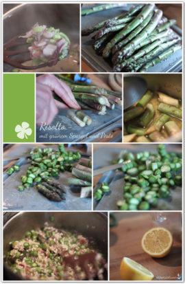 risotto grüner spargel pesto