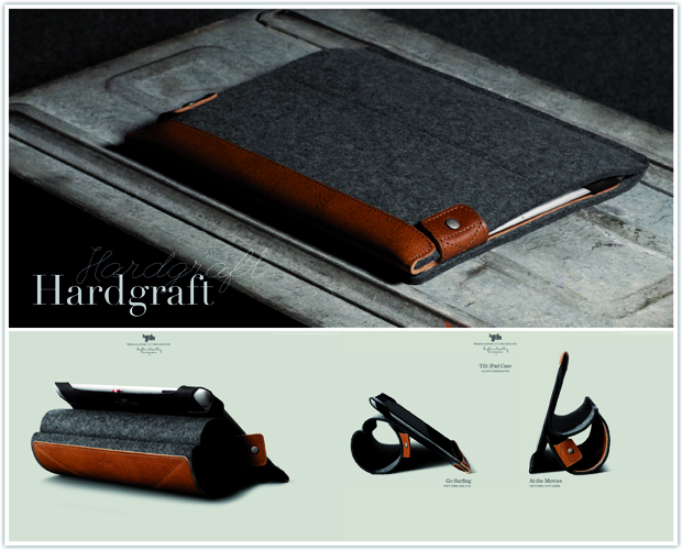 hardgraft tilt ipad sleeve