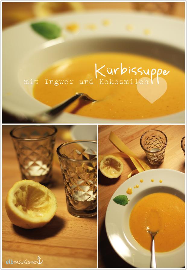 kürbissuppe mit kokosmilch ingwer