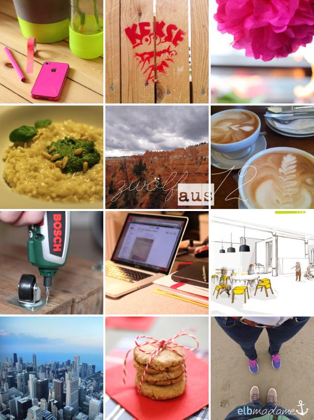 12aus12 Collage Jahresrückblick