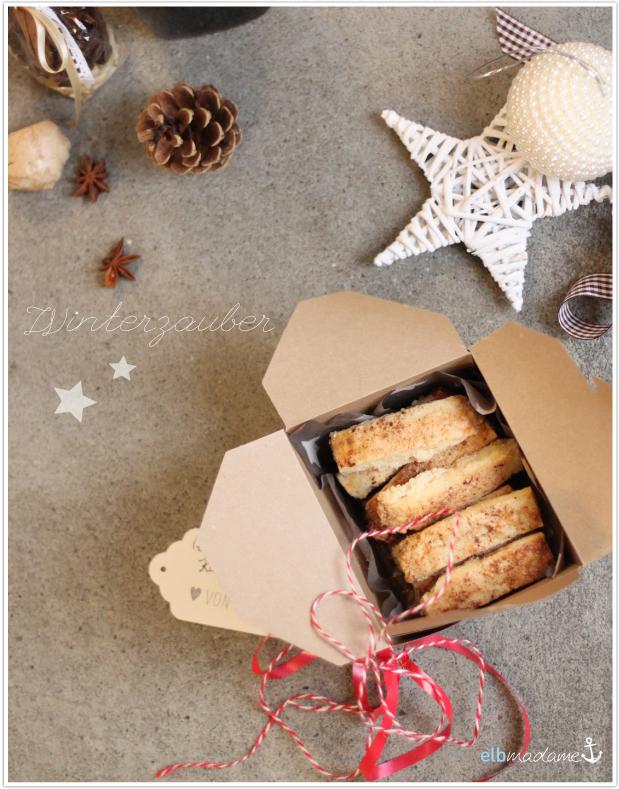 Post aus meiner Küche elbmadame Weihnachtsschickerei