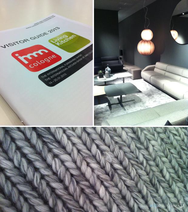 eindr cke von der imm m belmesse in k ln elbmadame. Black Bedroom Furniture Sets. Home Design Ideas