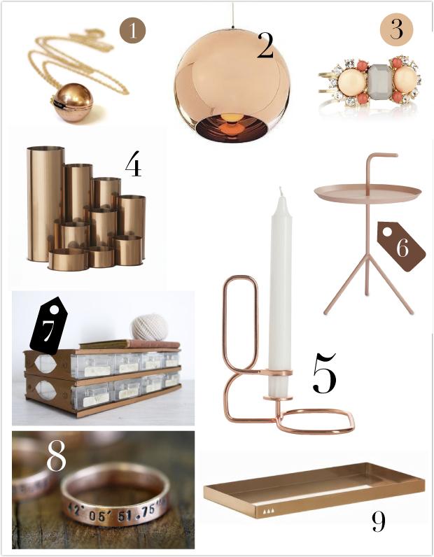 Kupfer Online Shopping