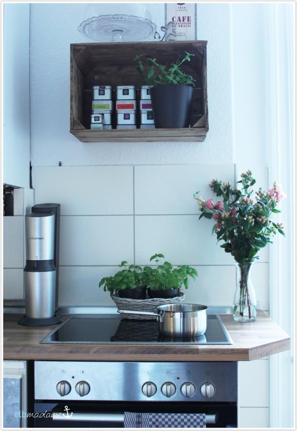 hereinspaziert ein blick in unsere k che elbmadame. Black Bedroom Furniture Sets. Home Design Ideas