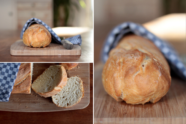 Brot backen Hefeteig lecker knusprig saftig