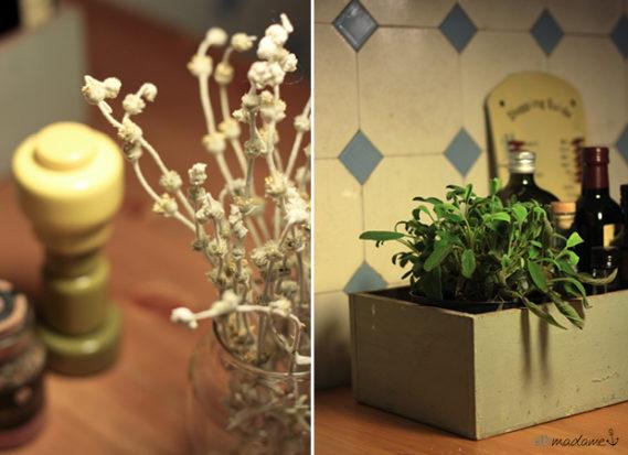Holzbox Vintage Öl & Essig