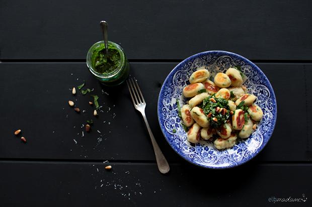 gnocchi bärlauchpesto rezept