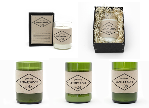 upwined candles