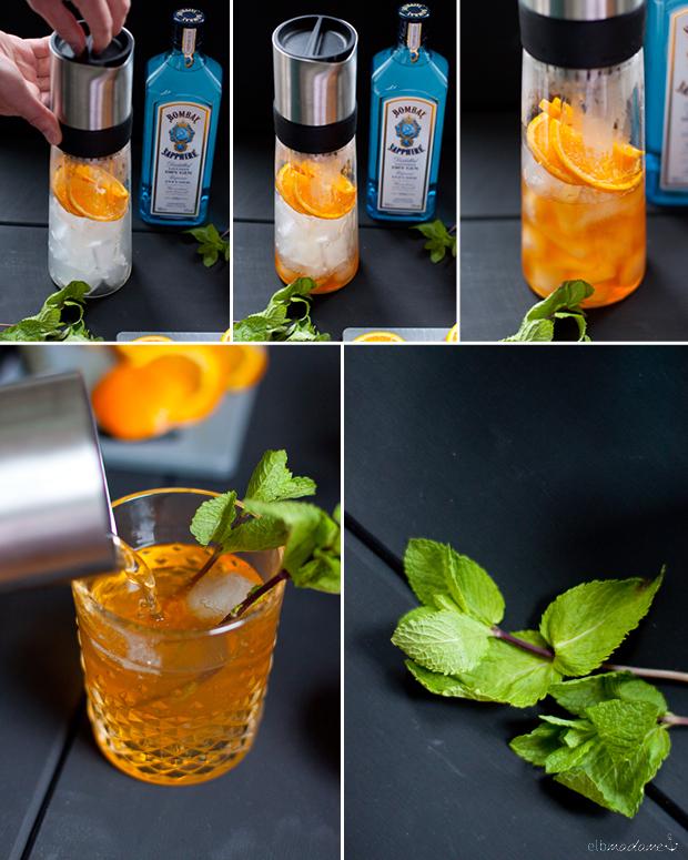 samova tee cocktail sommer