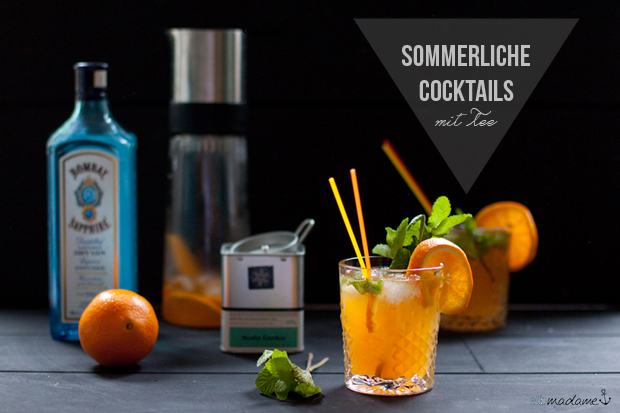 cocktail samova tee sommer