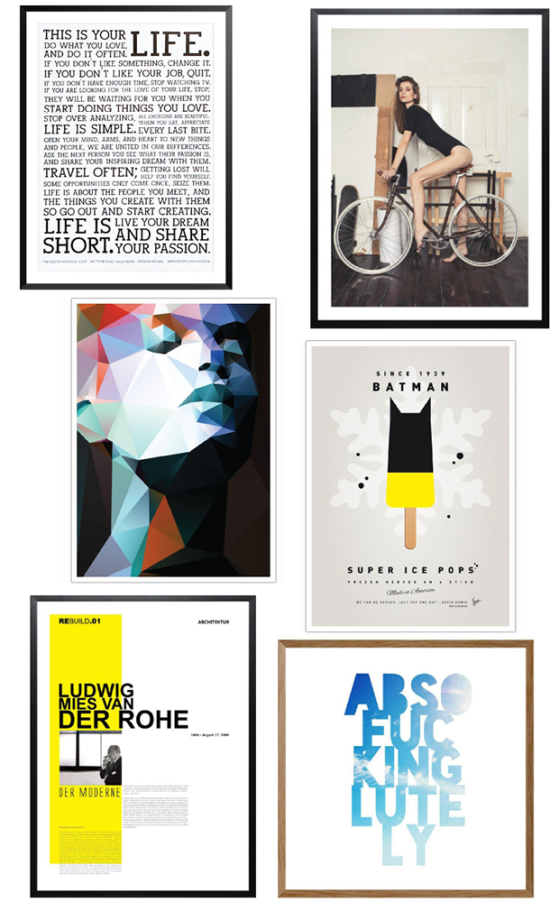 junique poster favoriten