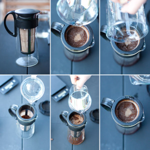 cold brew Kaffee hario