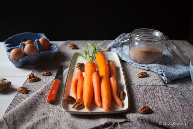 Möhrenkuchen Nuss Kokos KitchenAid