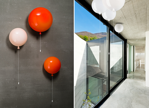 Brokis Luftballon DEsign LEuchte Lighting Lamp Tschechien