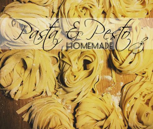 Pasta Pesto KitchenAid homemade