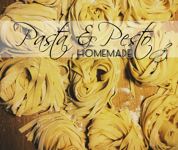 Pasta Pesto KitchenAid homemade