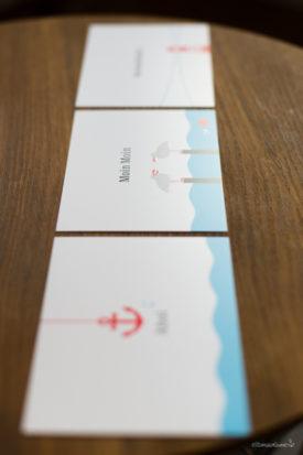 Küstenpost chatlab Postkarten