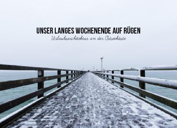 Rügen Gager Binz Wochenende Winter Schnee
