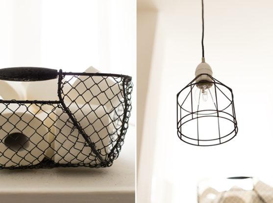 DIY Leuchte Textilkabe simpel stylisch schnell