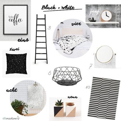 living collage Black & White