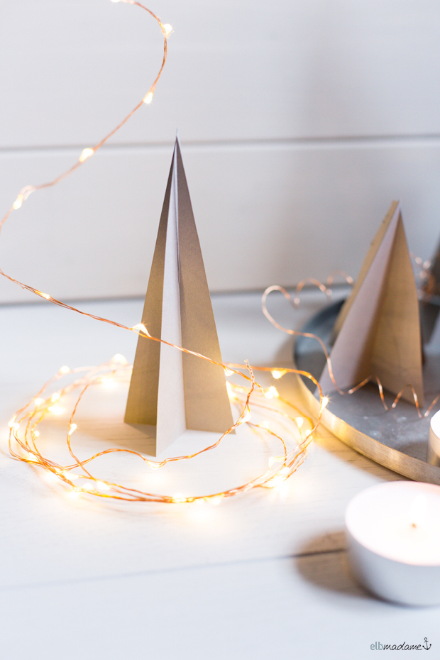 weihnachtliche tischdeko schnell einfach diy. Black Bedroom Furniture Sets. Home Design Ideas