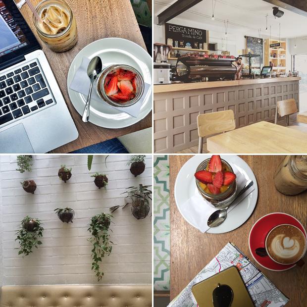 pergamino medellin kolumbien cafe