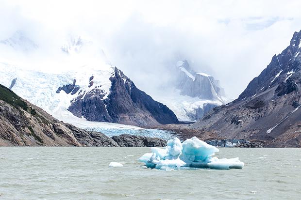 el chalten eisberg patagonien