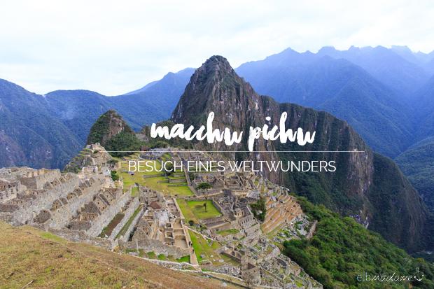 macchu pichu peru travel