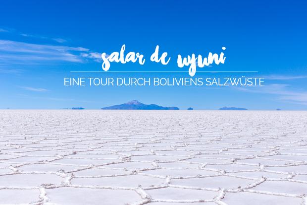 Salar de Uyuni Bolivien Salzwüste