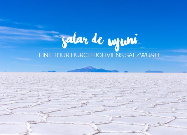 Salar de Uyuni Salzwüste Bolivien
