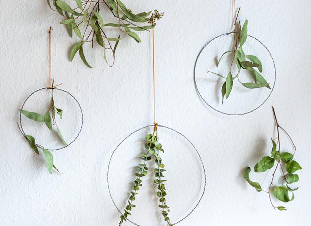 Fru00fchling: DIY und schnelle Deko-Idee mit Pflanzen fu00fcr Zuhause