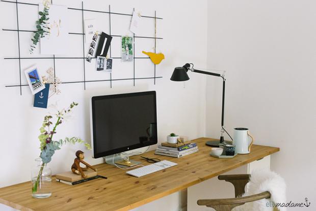 DIY Pinboard aus Rankgitter