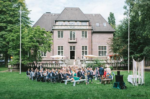 Hochzeit Hamburg urban Villa Mignon