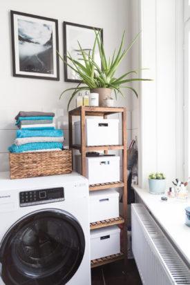 Bauknecht Waschmaschine im Badezimmer
