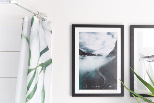 Wandbilder im Badezimmer für mehr Wohnlichkeit