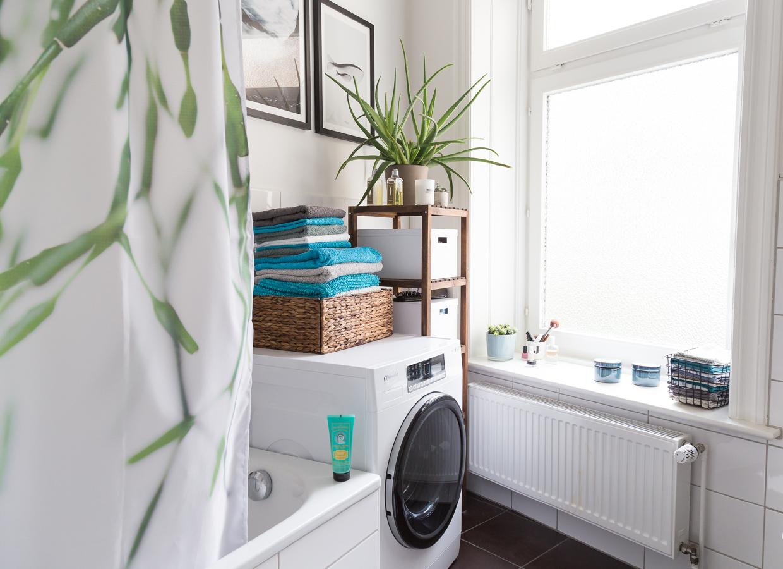 Schnelle badezimmer umgestaltung und eine neue waschmaschine for Neue badezimmer 2016