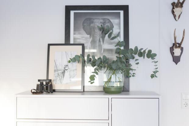 Eukalyptus in Elevated Vase von muuto