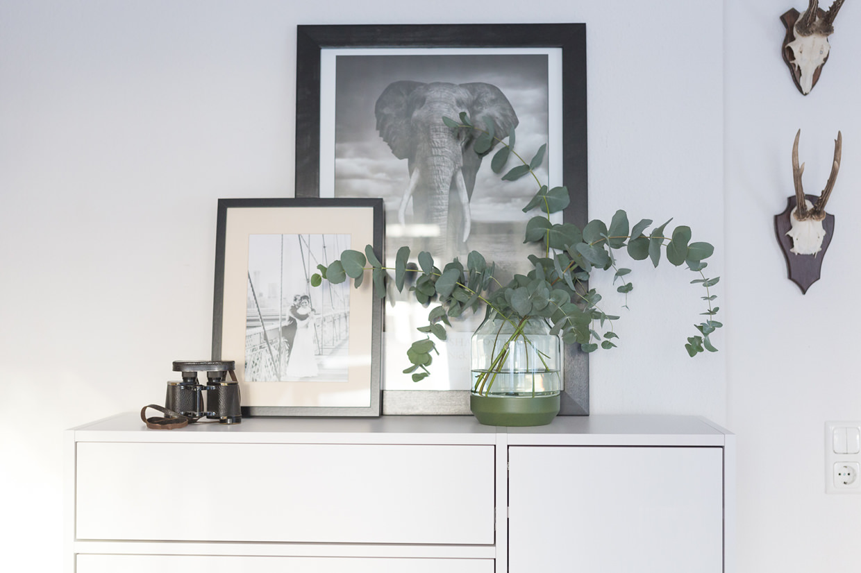 Eukalyptus in Elevated Vase von muuto