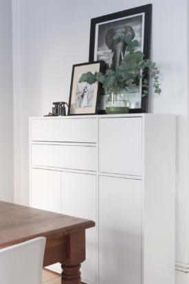 Stauraum Weißes Sideboard mycs