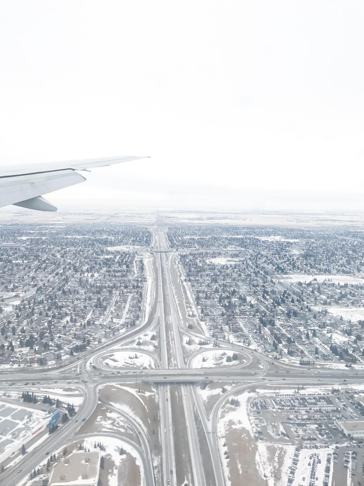 Travel Alberta Flug nach Calgary
