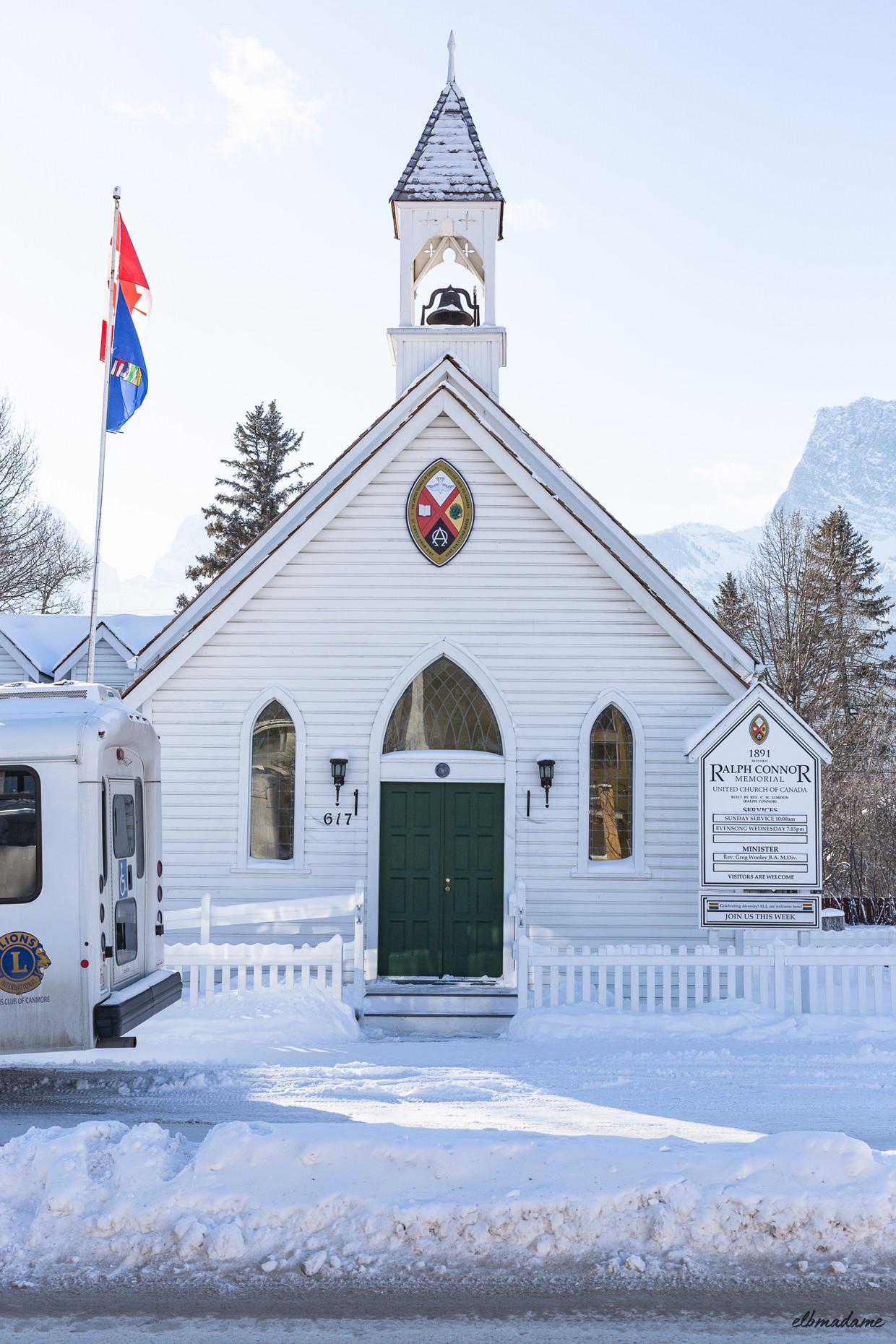 Kirche weiß Kanada